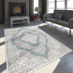 Exclusive vintage szőnyeg keleti design szőnyeg türkiz 80x150 cm