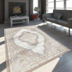 Exclusive vintage szőnyeg keleti design szőnyeg homok 80x150 cm