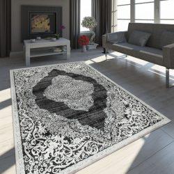 Exclusive vintage szőnyeg keleti design szőnyeg fekete 80x150 cm