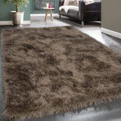 Royal exkluzív shaggy szőnyeg hosszú szálú puha bozontos barna 120x170 cm