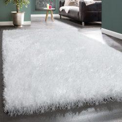 Royal exkluzív shaggy szőnyeg hosszú szálú puha bozontos fehér 80x150 cm