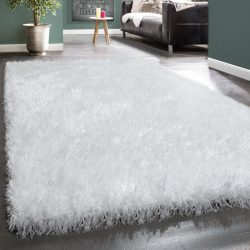 Royal exkluzív shaggy szőnyeg hosszú szálú puha bozontos fehér 160x230 cm