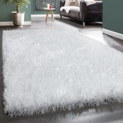 Royal exkluzív shaggy szőnyeg hosszú szálú puha bozontos fehér 200x290 cm