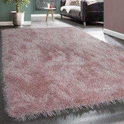 Royal exkluzív shaggy szőnyeg hosszú szálú puha bozontos rózsaszín 80x150 cm