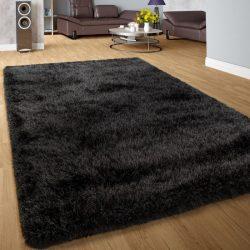 Royal exkluzív shaggy szőnyeg hosszú szálú puha bozontos antracit 200x290 cm