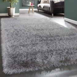 Royal exkluzív shaggy szőnyeg hosszú szálú puha bozontos szürke 80x150 cm