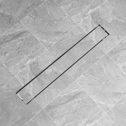 830x140 mm lineáris rozsdamentes acél zuhany lefolyó