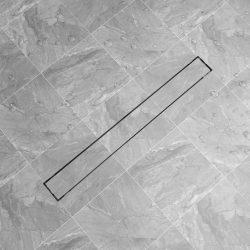 930x140 mm lineáris rozsdamentes acél zuhany lefolyó