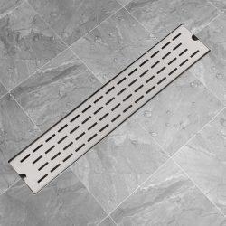 630x140 mm Lineáris rozsdamentes acél zuhany lefolyó
