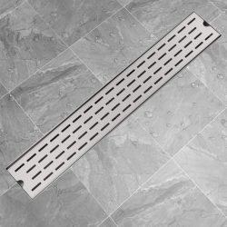 730x140 mm lineáris rozsdamenetes acél zuhany lefolyó