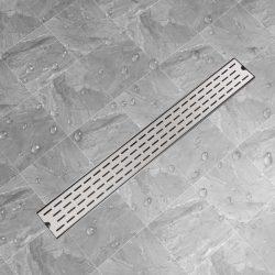 930x140 mm Lineáris rozsdamentes acél vonal zuhany lefolyó