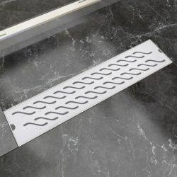 530x140 mm lineáris rozsdamentes acél zuhany lefolyó