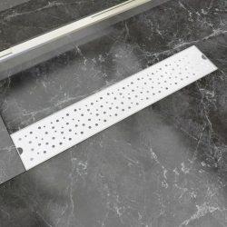 630x140 mm Lineáris rozsdamentes acél buborék zuhany lefolyó
