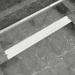 930x140 mm Lineáris rozsdamentes acél buborék zuhany lefolyó