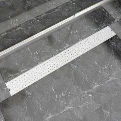 1030x140 mm lineáris rozsdamentes acél buborékos zuhany lefolyó
