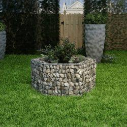 hatszögletű gabion magaságyás 100 x 90 x 50 cm