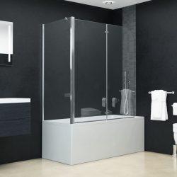 ESG zuhanykabin összecsukható ajtóval 120 x 68 x 130 cm