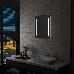 LED-es fürdőszobai falitükör 50 x 60 cm