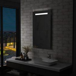 LED-es fürdőszobai falitükör 60 x 100 cm