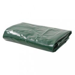 zöld ponyva 650 g/m? 3,5 x 5 m