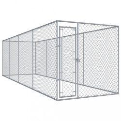 kültéri kutyakennel 7,6 x 1,9 x 2 m