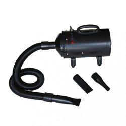 fekete 3 fúvókás kutya szárítógép 2400 W