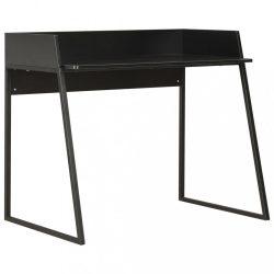 fekete íróasztal 90 x 60 x 88 cm