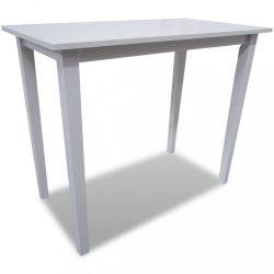 fehér fa bárasztal