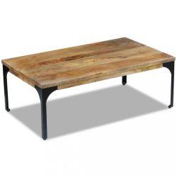 100x60x35 cm Mangófa dohányzóasztal