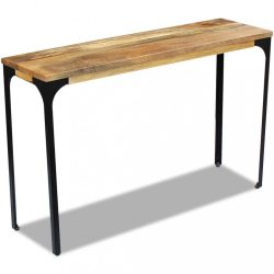 120x35x76 cm Mangófa konzolasztal