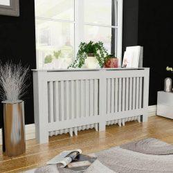 MDF radiátor burkolat fehér 172 cm