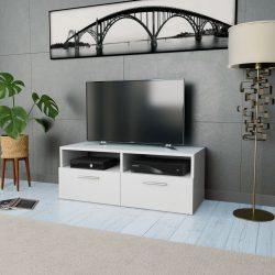 fehér faforgácslap TV szekrény 95 x 35 x 36 cm