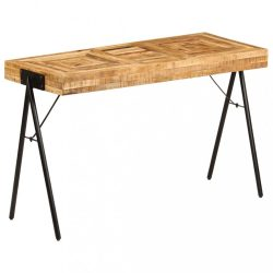 tömör mangófa íróasztal 118 x 50 x 75 cm