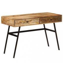 tömör mangófa fiókos íróasztal 110 x 50 x 76 cm