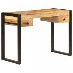 tömör mangófa íróasztal 2 fiókkal 110 x 50 x 77 cm