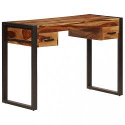 tömör kelet-indiai rózsafa íróasztal 2 fiókkal 110 x 50 x 77 cm