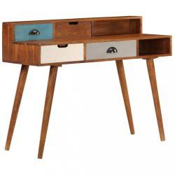 tömör akácfa íróasztal 110 x 50 x 90 cm