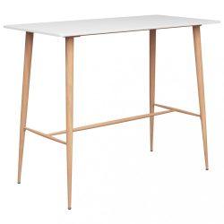 fehér bárasztal 120 x 60 x 96 cm