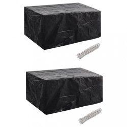 2 db védőhuzat 4 személyes polyrattan szetthez 180 x 140 cm