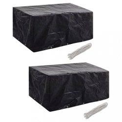 2 db védőhuzat 6 személyes polyrattan szetthez 240 x 140 cm