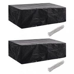 2 db védőhuzat 8 személyes polyrattan szetthez 300 x 140 cm