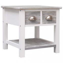szürke császárfa kisasztal 40 x 40 x 40 cm