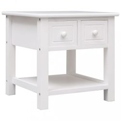 fehér császárfa kisasztal 40 x 40 x 40 cm