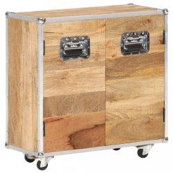 tömör mangófa komód 2 ajtóval 70 x 30 x 69 cm