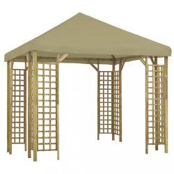 bézs pavilon 3 x 3 m