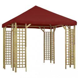 bordó pavilon 3 x 3 m