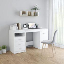 fehér forgácslap íróasztal 140 x 50 x 76 cm