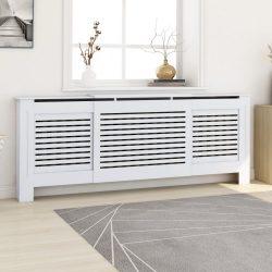 fehér MDF radiátorburkolat 205 cm