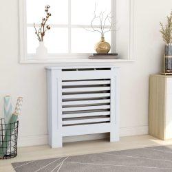 fehér MDF radiátorburkolat 78 cm