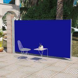 Veranda, terasz válaszfal 160 x 300 cm kék